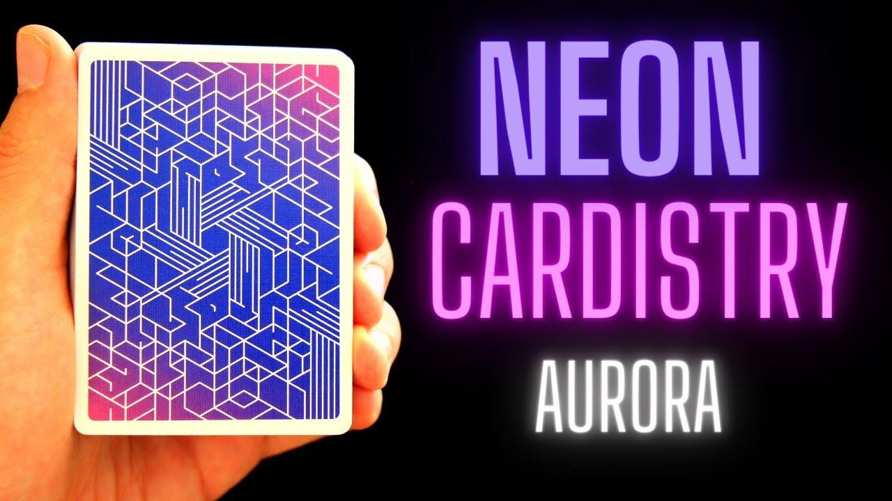 RECENZE: Neon Cardistry Aurora