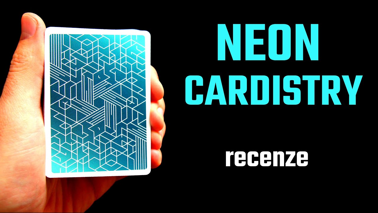 Bicycle Neon Cardistry - Recenze