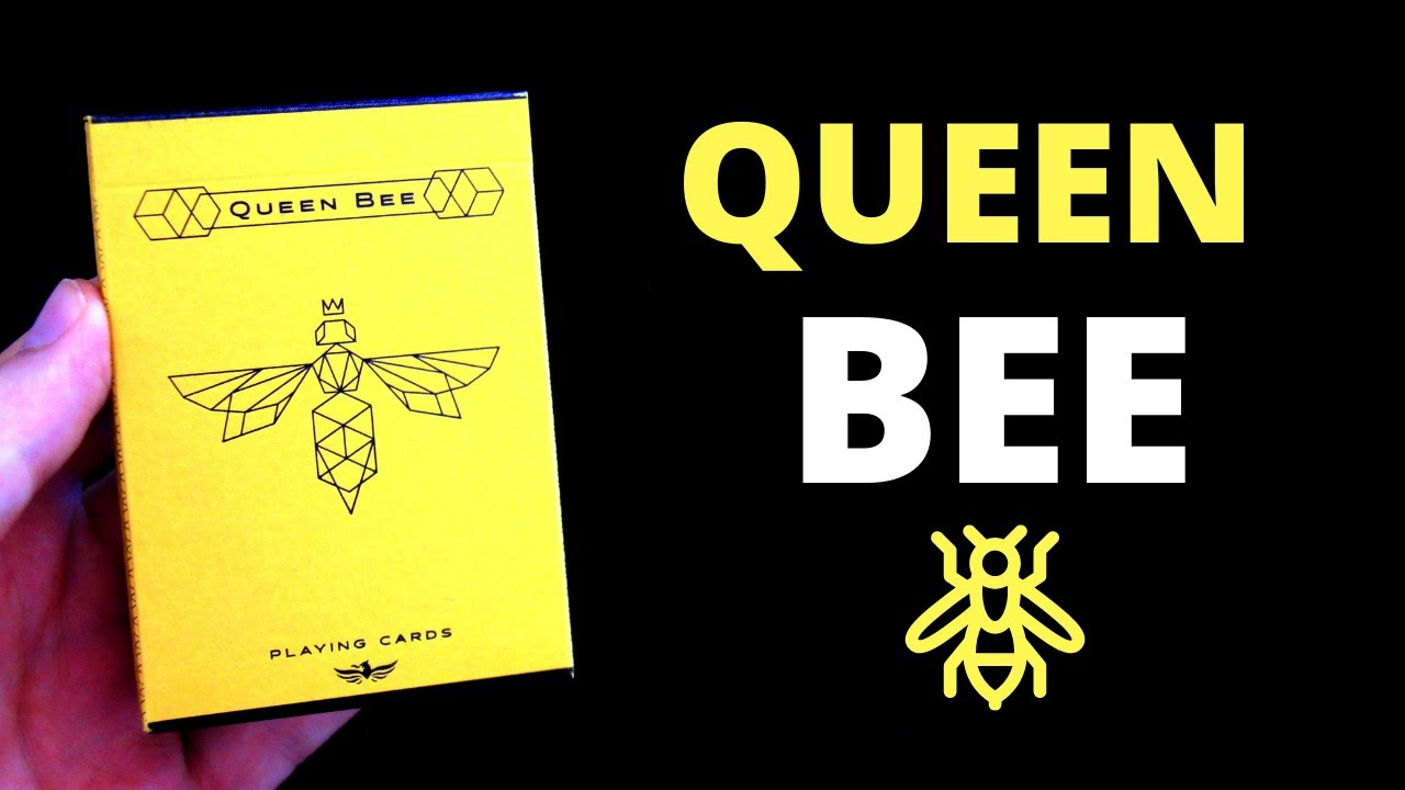 RECENZE: Queen Bee Playing Cards