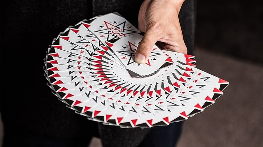 Cardistry Fanning White