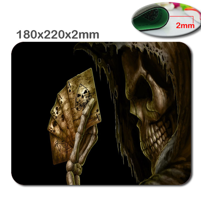 -HD-3D-Print-skul-and-poker-Customized-Rectangle-Rubber-gaming-rubber-durable-notebook-mouse-pad_1