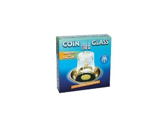 mince skrz sklenicku