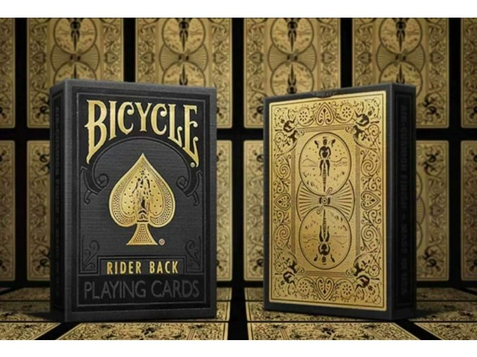 Bicycle - Black and Gold