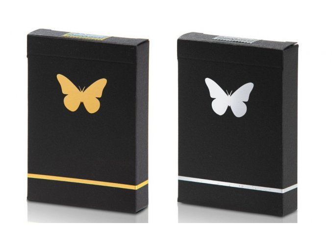 Butterfly Gold Silver
