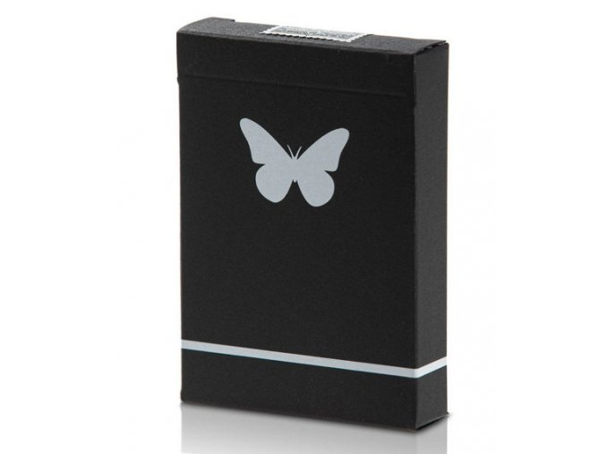 Butterfly Black White 1