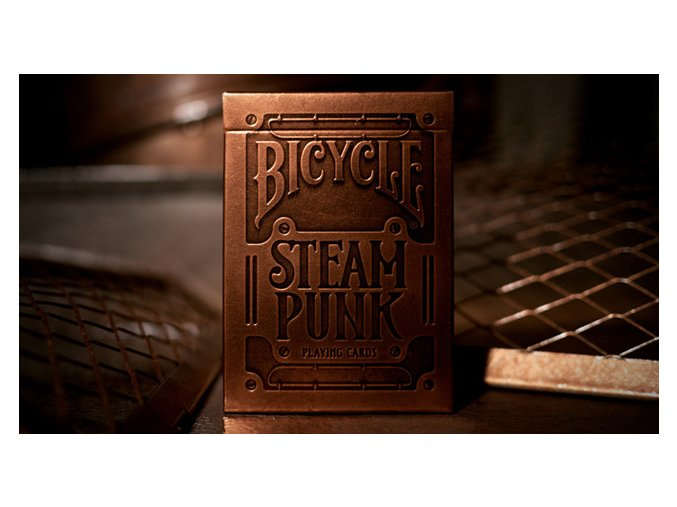 Bicycle Steampunk - Gold
