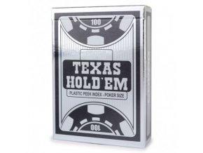 poker karty copag silver black