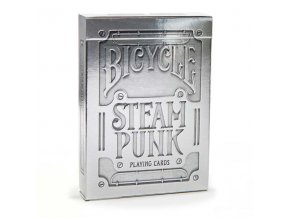 BICYCLE steampunk silver WHT