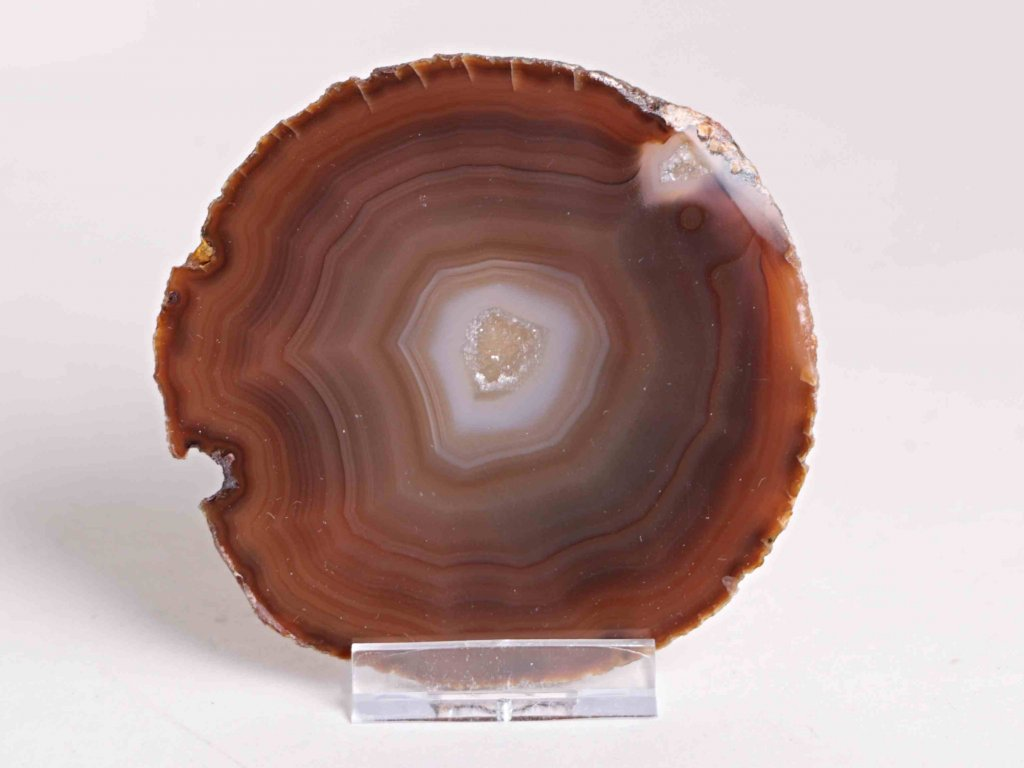 Achátový plát - velikost 9 cm + stojánek - Top kvalita - 220  + až 10% sleva po registraci