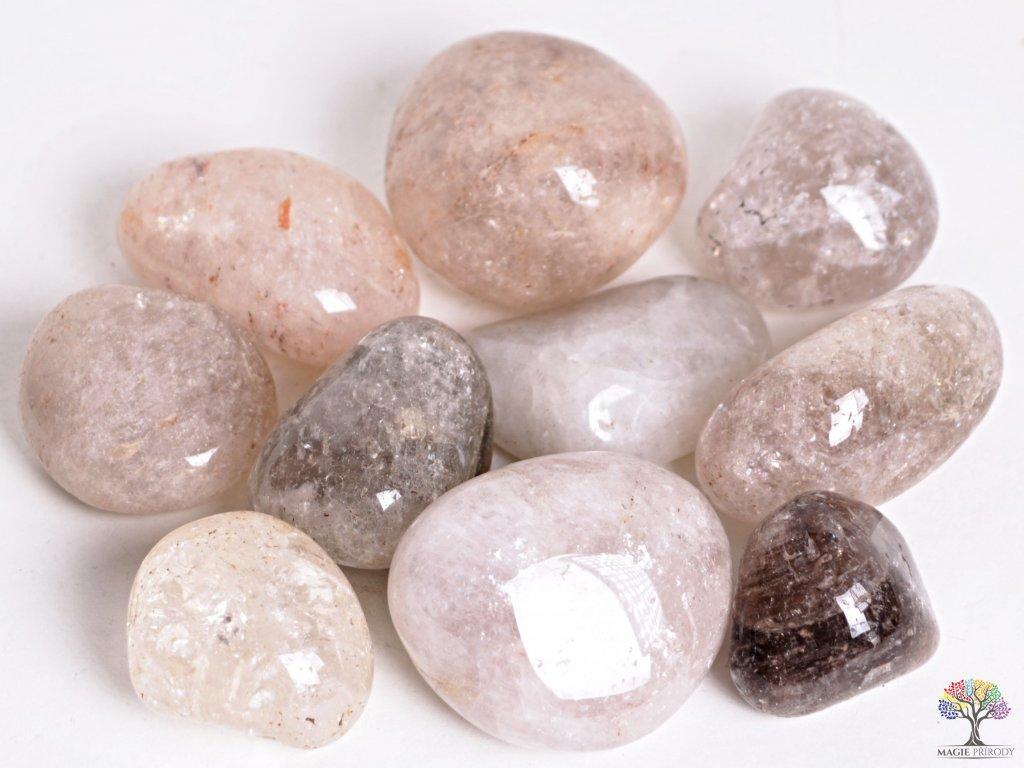 Tromlované kamínky Záhněda JUMBO - kameny o velikosti 40 - 70 mm - 500g - Brazílie  + až 10% sleva po registraci