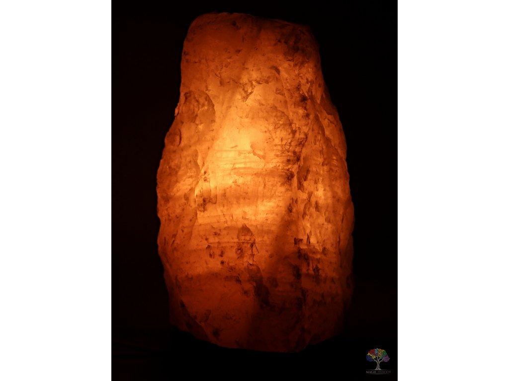 Růženínová lampa elektrická 2 - 3 kg - #01 přírodní kámen  + sleva 5% po registraci na většinu zboží + dárek k objednávce
