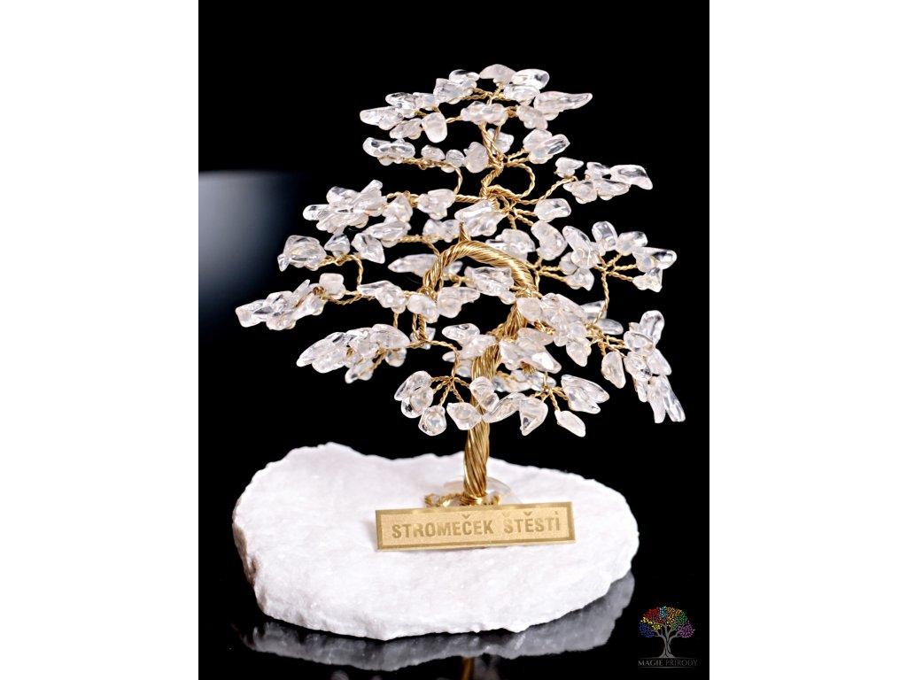 Křišťálový stromeček štěstí 9 cm - R4 - #82  + až 10% sleva po registraci