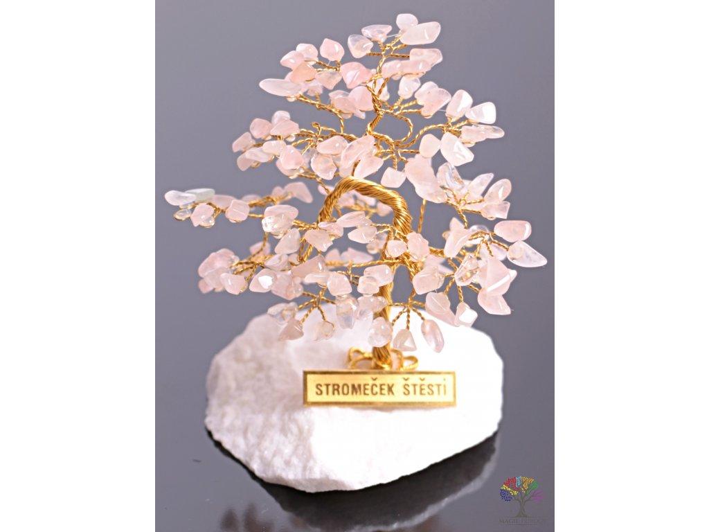 Růženínový stromeček štěstí 9 cm - R4 - #87  + až 10% sleva po registraci