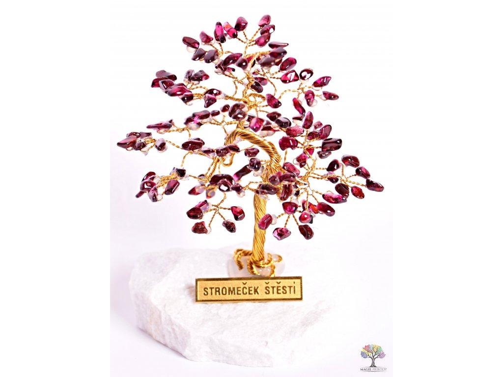 Granátový stromeček štěstí 9 cm - R4 - #88  + až 10% sleva po registraci