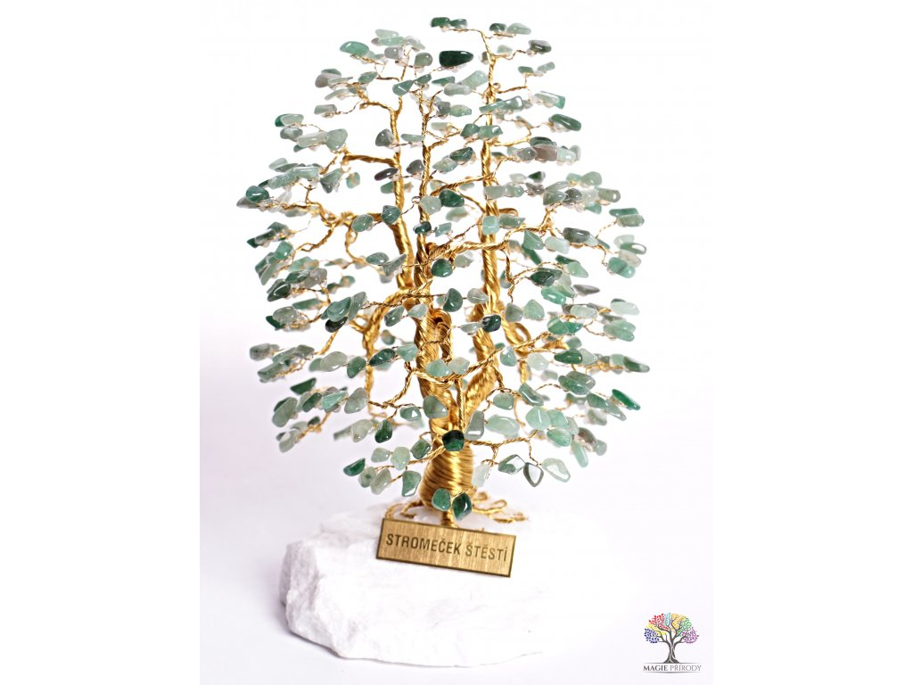 Avanturin stromeček štěstí 20 cm - A3 - #119