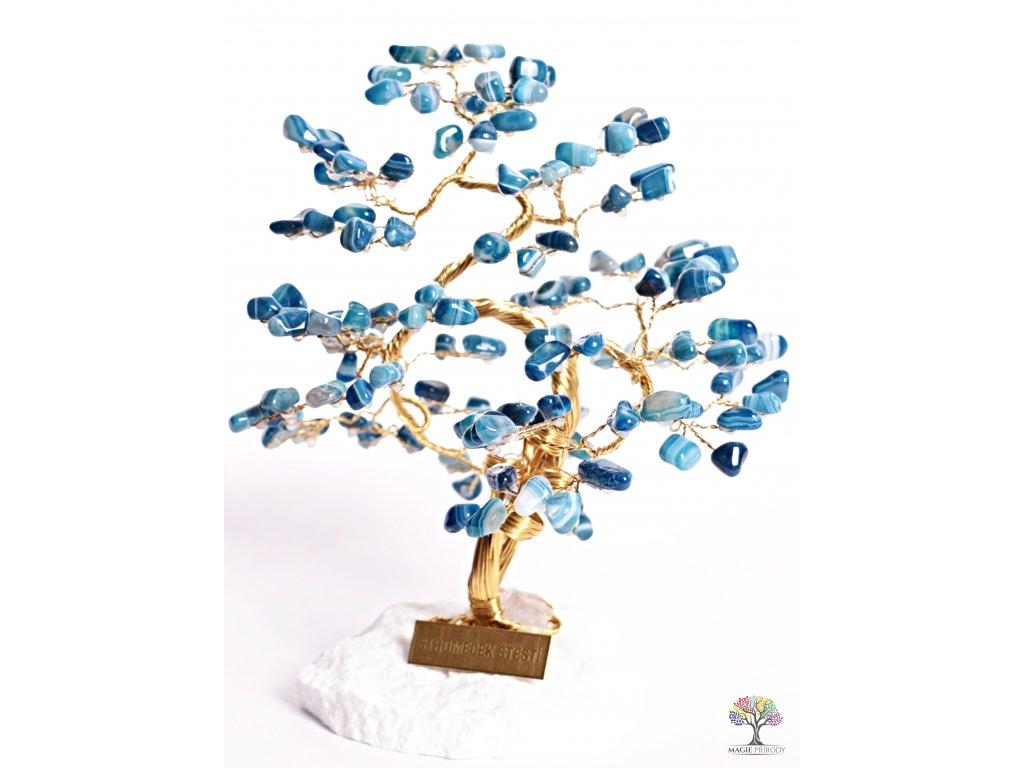 Achát stromeček štěstí 25 cm - B3 - #126