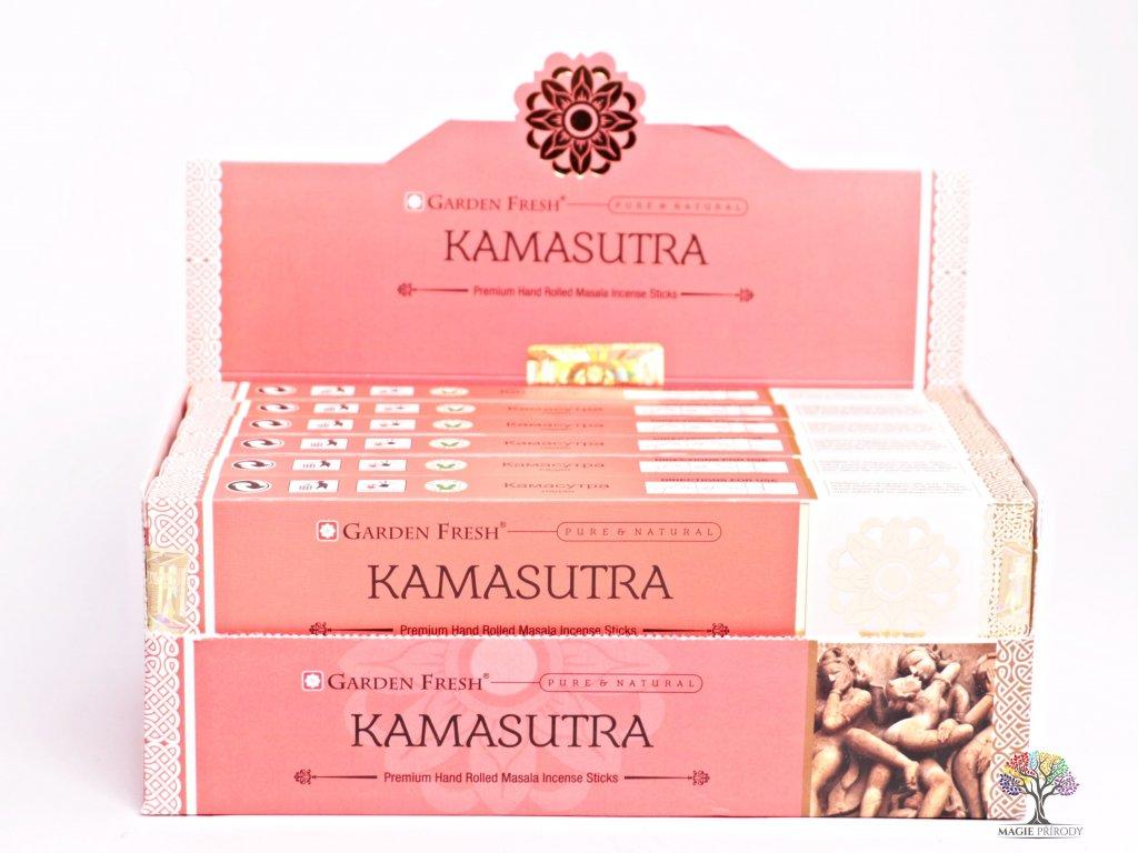 Vonné tyčinky Garden Fresh Premium Kamasutra - 12 ks - #38  + sleva 5% po registraci na většinu zboží + dárek k objednávce