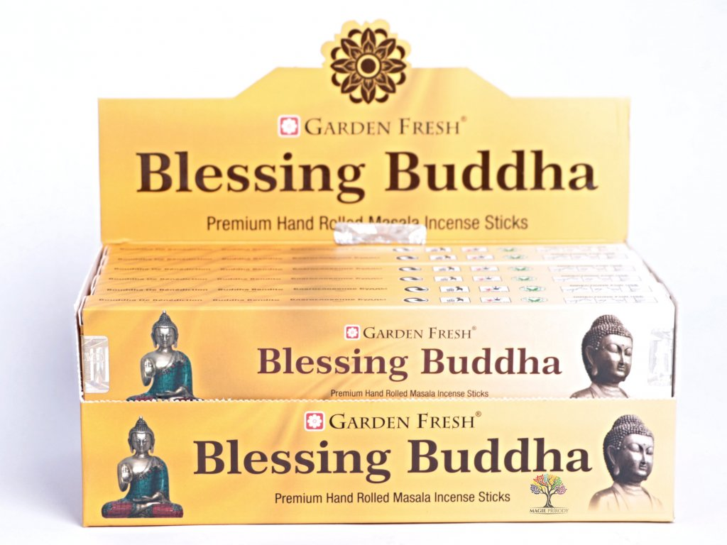 Vonné tyčinky Garden Fresh Premium Blessing Buddha - 12 ks - #40  + až 10% sleva po registraci
