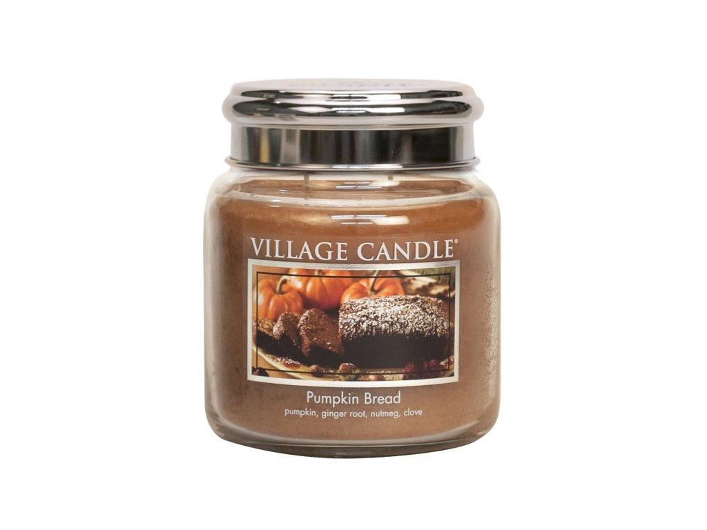 village candle vonna svicka ve skle dynovy chleb pumpkin bread 16oz