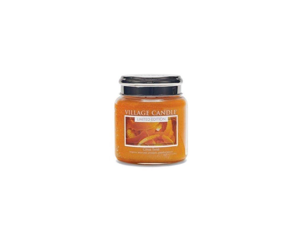 village candle vonna svicka ve skle citrusove osvezeni citrus twist 16oz