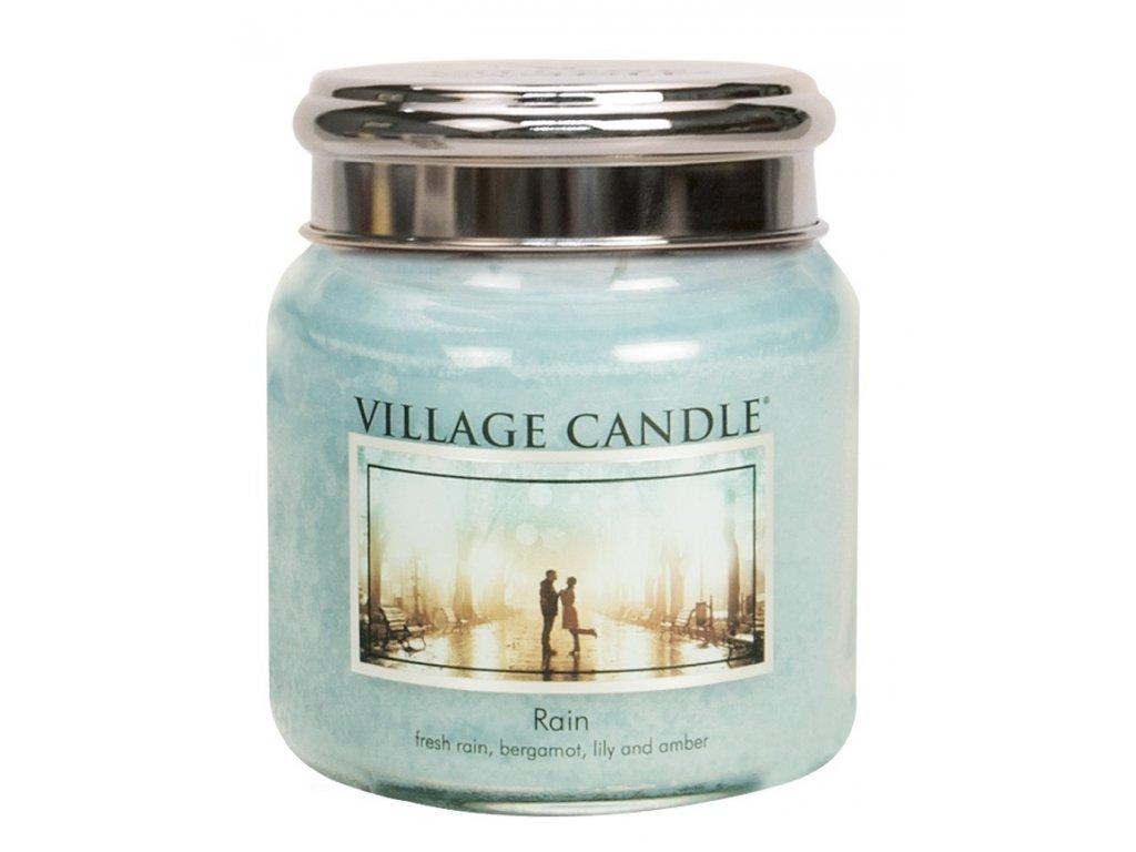 village candle vonna svicka ve skle dest rain 16oz