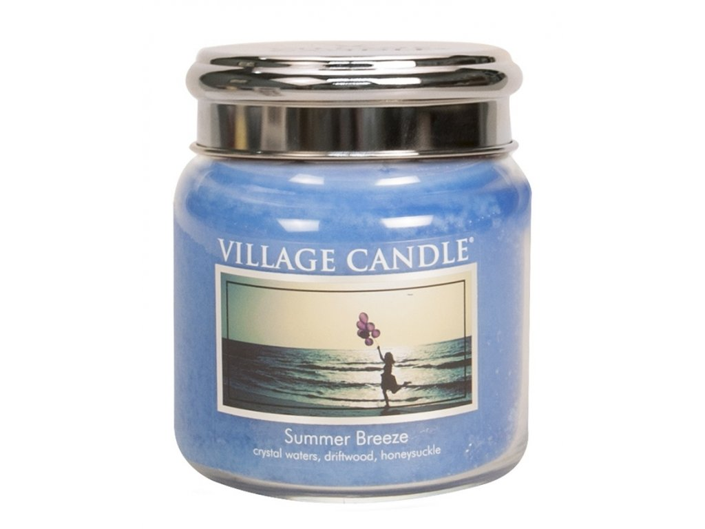 village candle vonna svicka ve skle letni vanek summer breeze 16oz