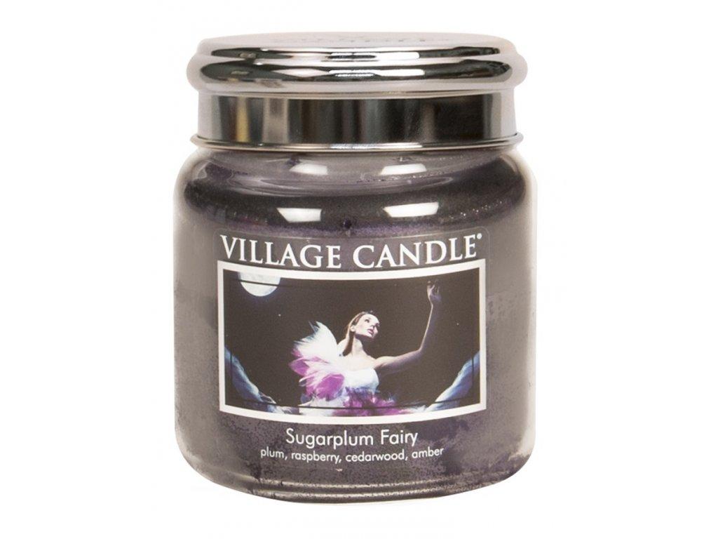 village candle vonna svicka ve skle pulnocni vila sugarplum fairy 16oz