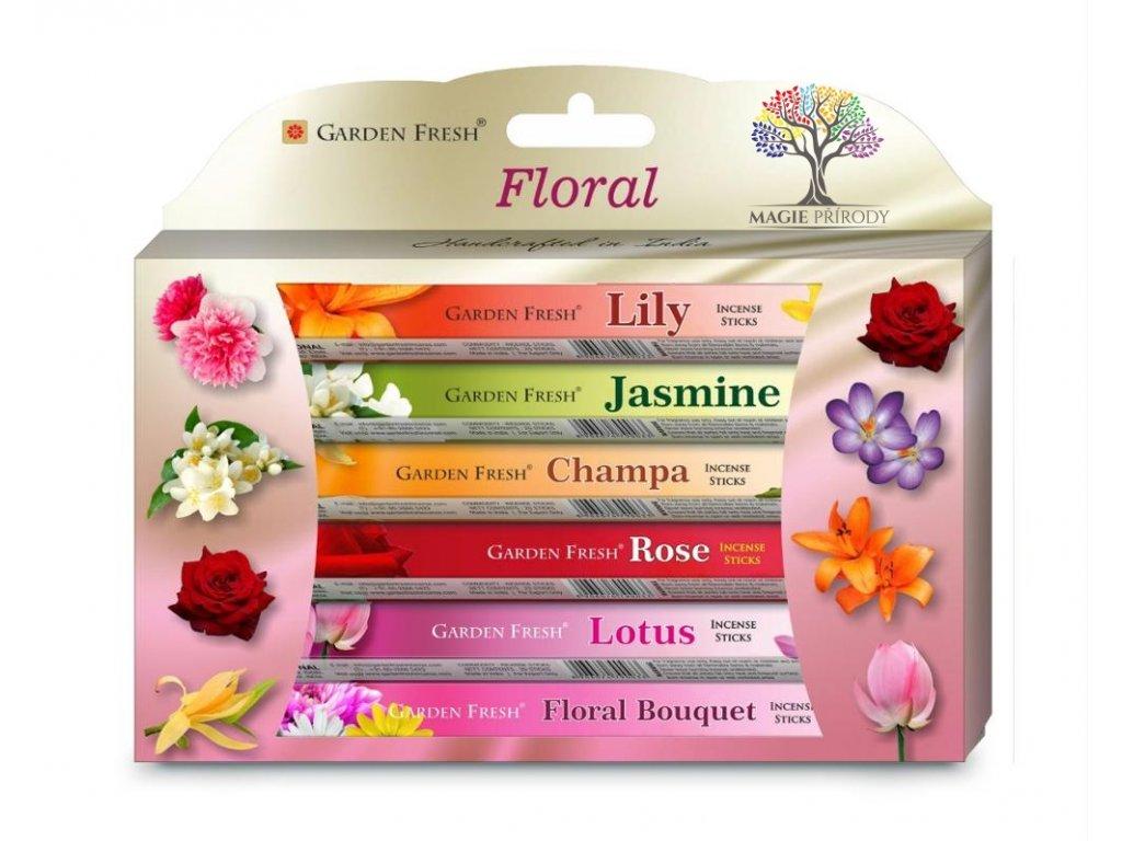 Vonné tyčinky Garden Fresh Floral - 120 ks #46  + sleva 5% po registraci na většinu zboží + dárek k objednávce