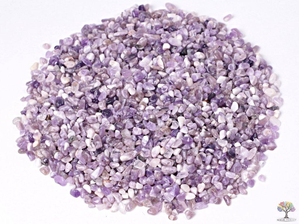 Tromlované kamínky Ametyst XXS - 1 kg - kameny o velikosti 3 - 8 mm - Malawi  + sleva 5% po registraci na většinu zboží + dárek k objednávce