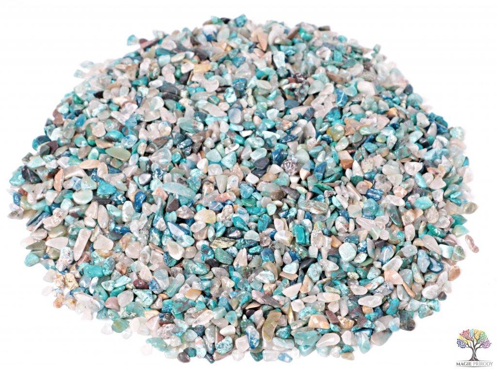 Tromlované kamínky Shattuckit XXS - 1 kg - kameny o velikosti 3 - 8 mm - Kongo  + sleva 5% po registraci na většinu zboží + dárek k objednávce