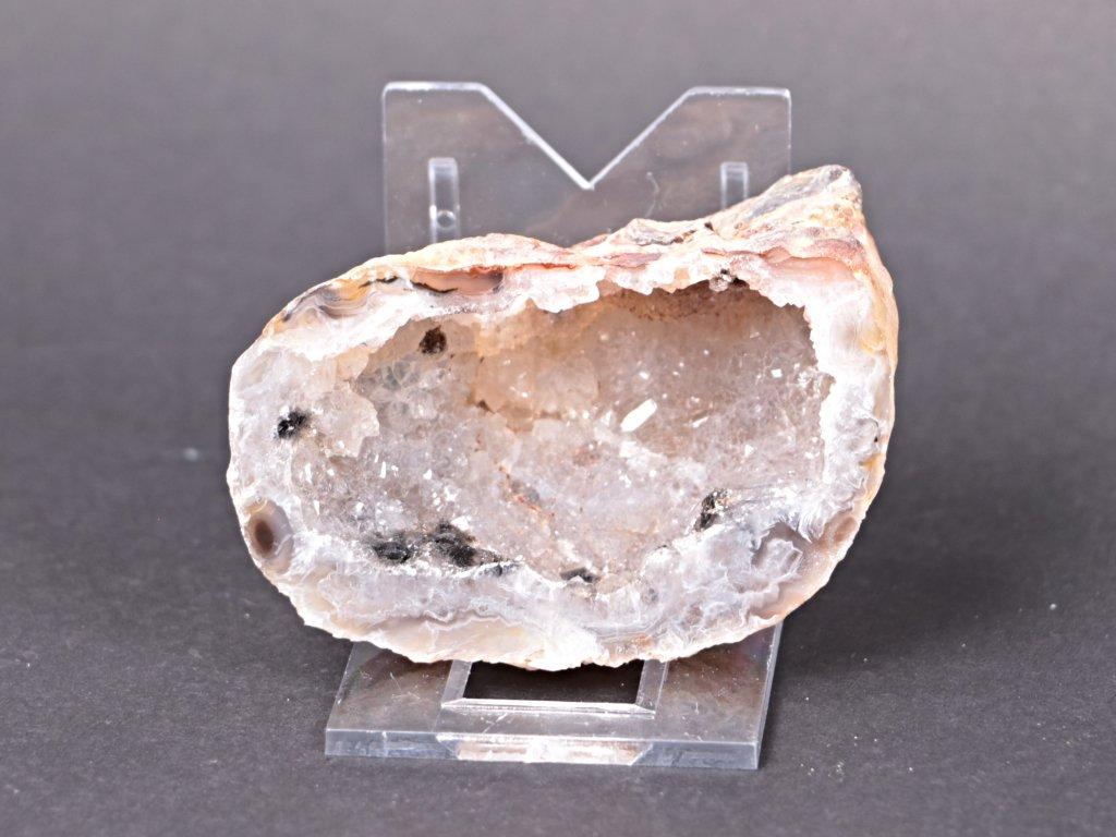 Achát peříčkový 7 cm - geoda - Top kvalita - #88  + sleva 5% po registraci na většinu zboží + dárek k objednávce