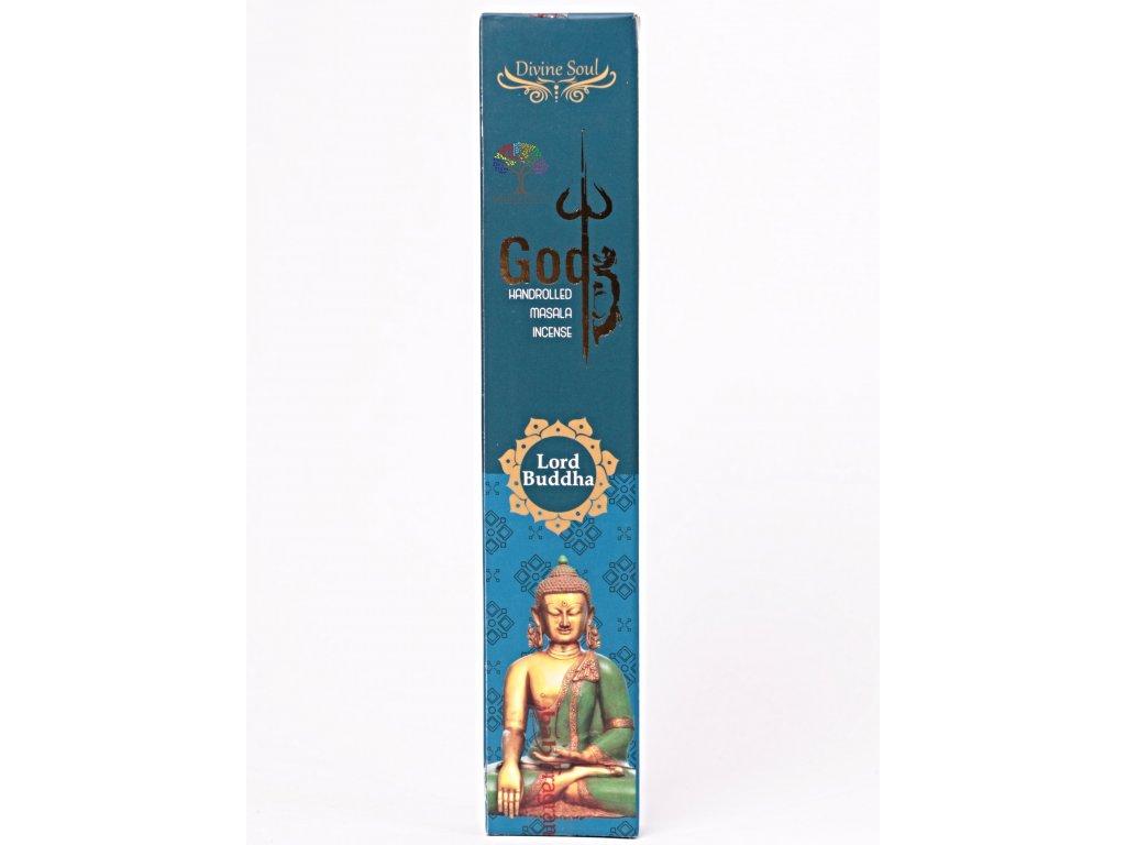 Vonné tyčinky Misbah Lord Buddha - 15 ks - #59  + až 10% sleva po registraci