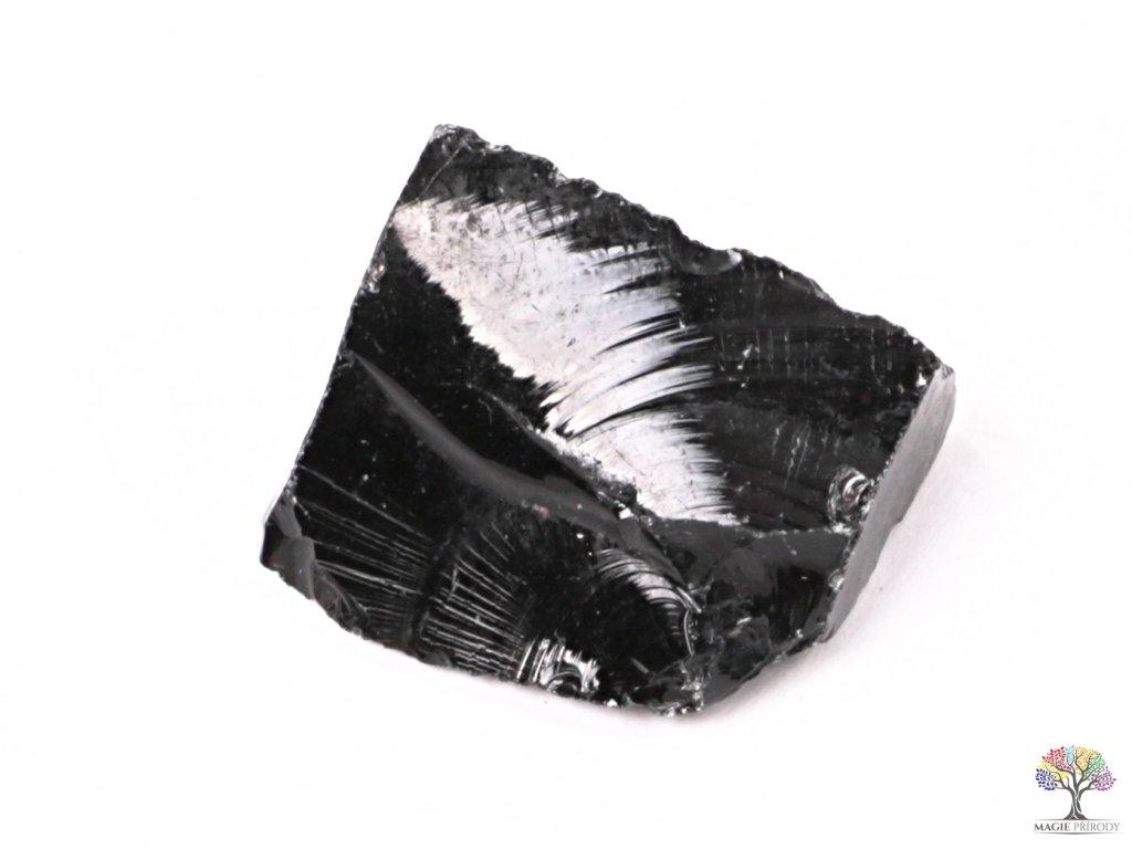Obsidián Černý surový 2 - 7 cm - TOP kvalita 1 ks  + až 10% sleva po registraci