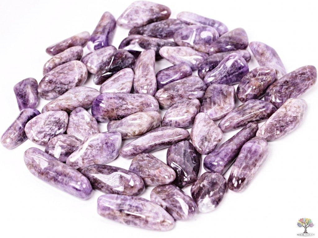 Tromlované kamínky Ametyst XL - kameny o velikosti 30 - 60 mm - 1 kg - Malawi  + sleva 5% po registraci na většinu zboží + dárek k objednávce
