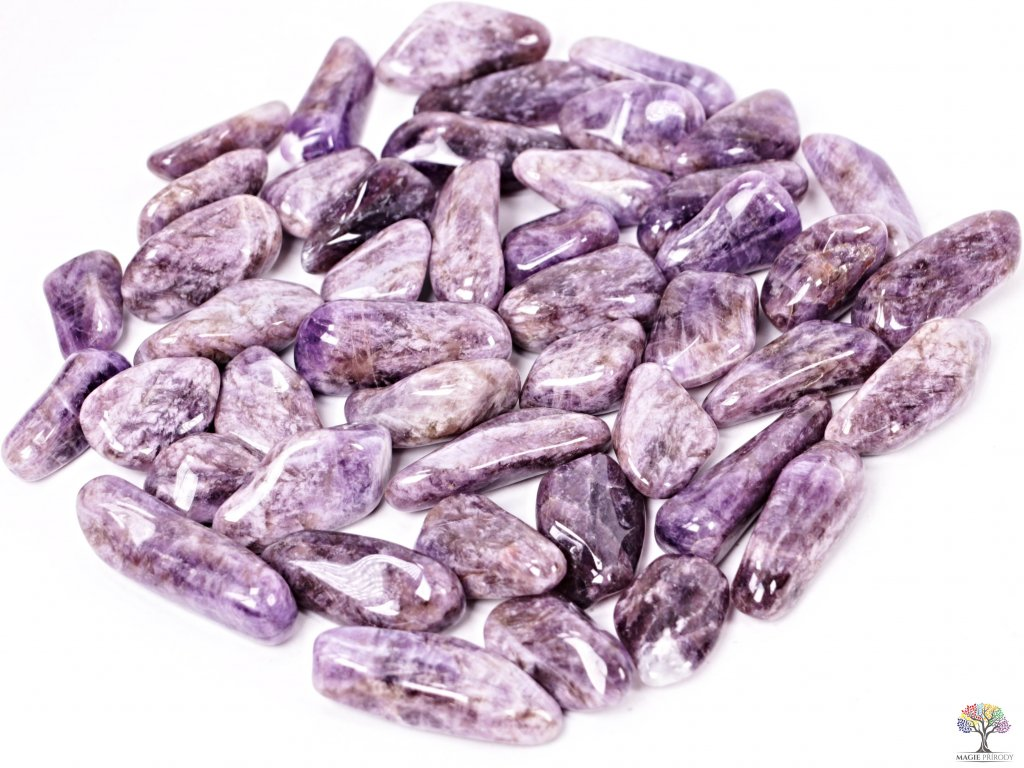 Tromlované kamínky Ametyst XL - kameny o velikosti 30 - 60 mm - 100g - Malawi