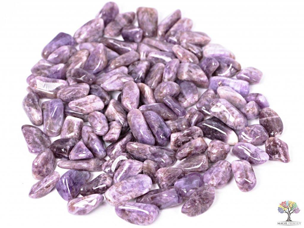 Tromlované kamínky Ametyst M - kameny o velikosti 20 - 40 mm - 1 kg - Malawi  + sleva 5% po registraci na většinu zboží + dárek k objednávce