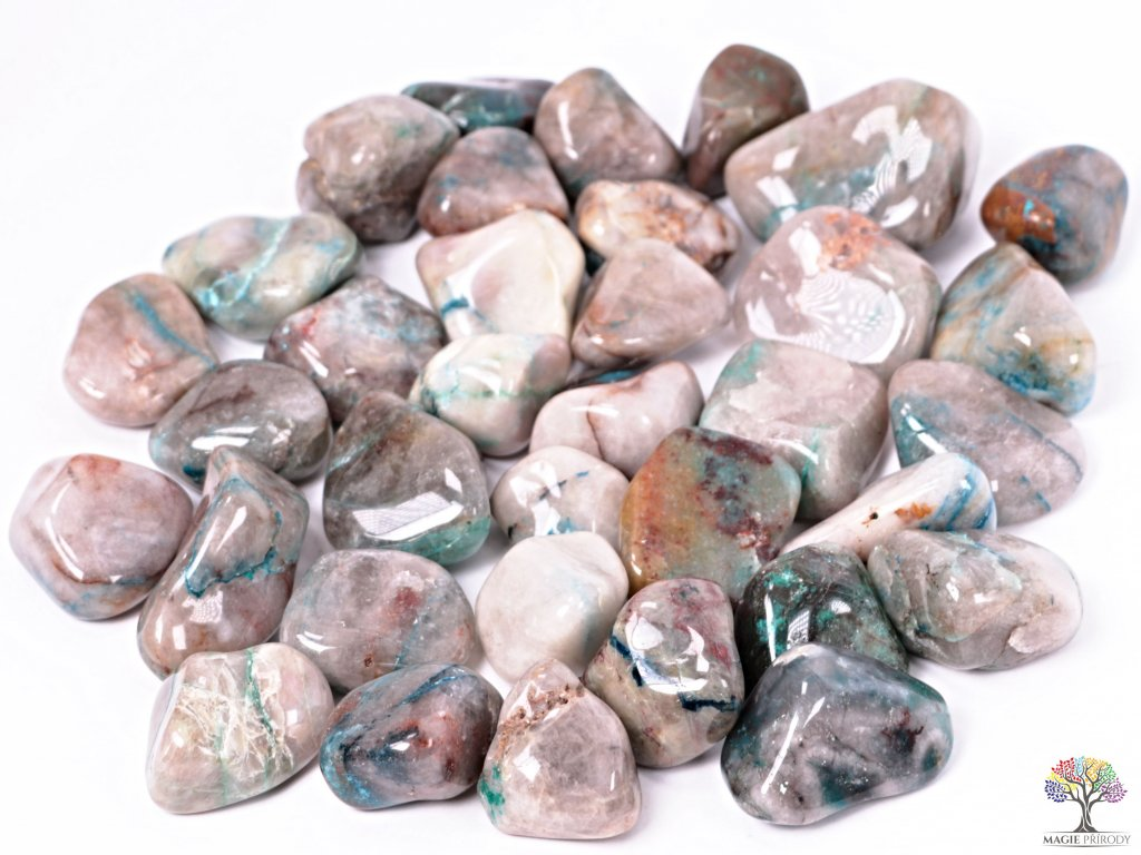 Tromlované kamínky Shattuckit XXL - kameny o velikosti 40 - 60 mm - 500g - Kongo