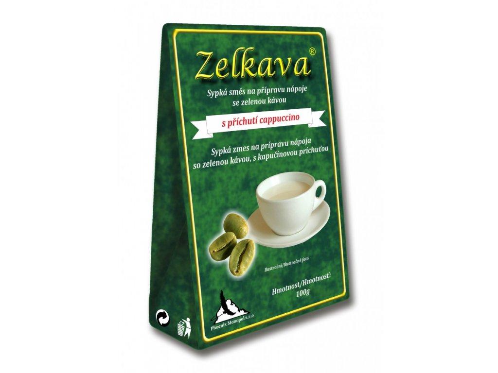 Zelkava s příchutí cappuccino 100g