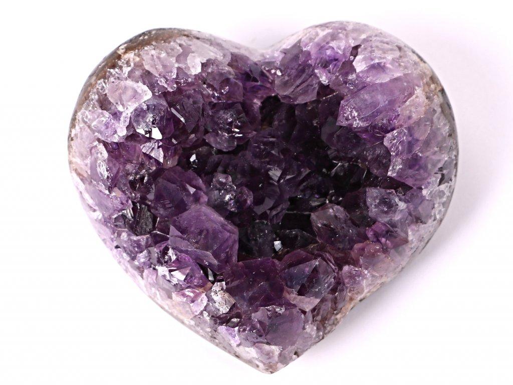 Ametyst drúza Srdce - Top kvalita - 230g #12  + sleva 5% po registraci na většinu zboží + dárek k objednávce