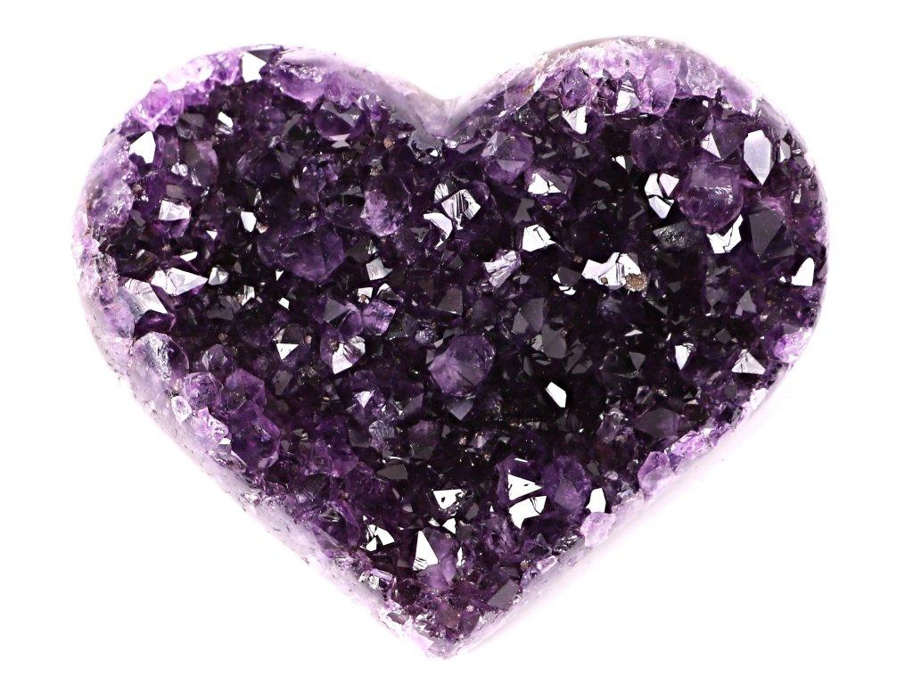 Ametyst drúza Srdce - Top kvalita - 500g #34  + sleva 5% po registraci na většinu zboží + dárek k objednávce