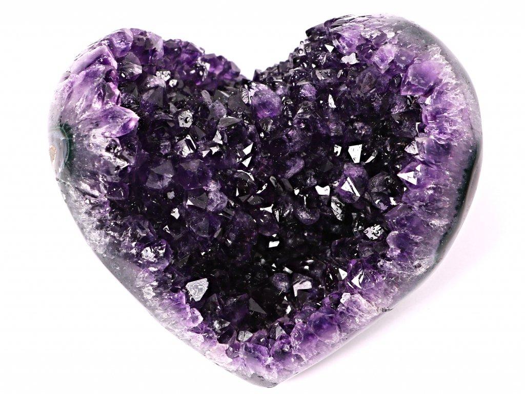 Ametyst drúza Srdce - Top kvalita - 580g #41  + sleva 5% po registraci na většinu zboží + dárek k objednávce