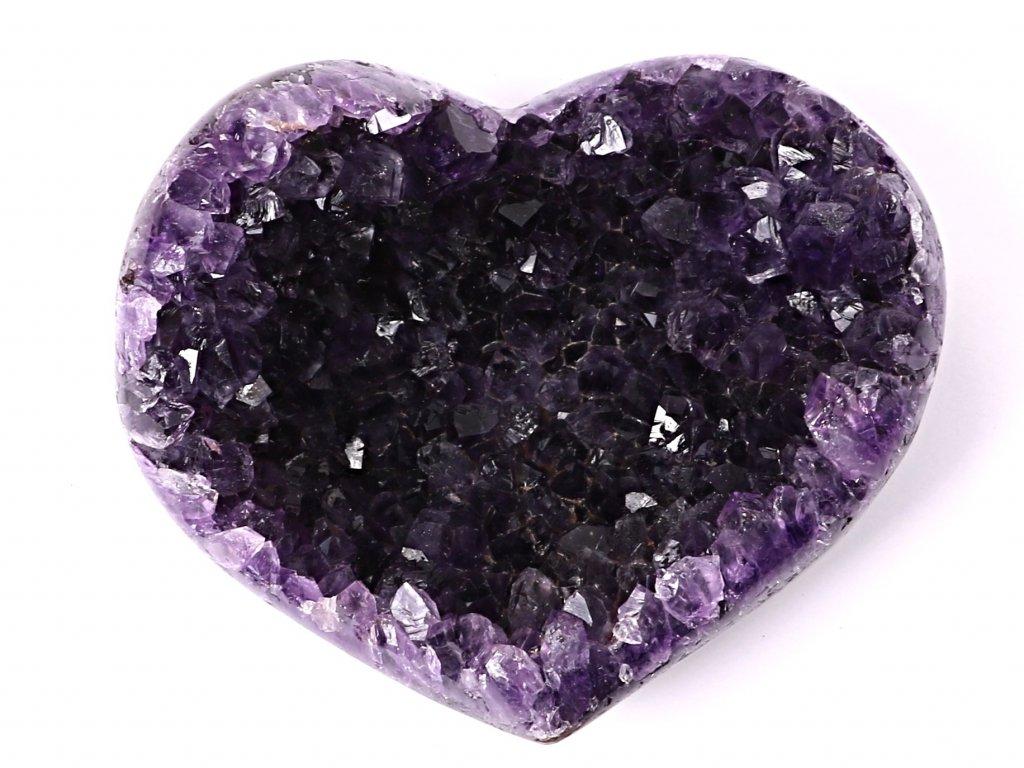 Ametyst drúza Srdce - Top kvalita - 420g #42  + sleva 5% po registraci na většinu zboží + dárek k objednávce