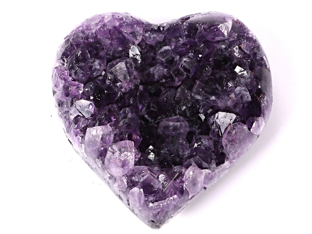 Ametyst drúza Srdce - Top kvalita - 240g #54  + sleva 5% po registraci na většinu zboží + dárek k objednávce
