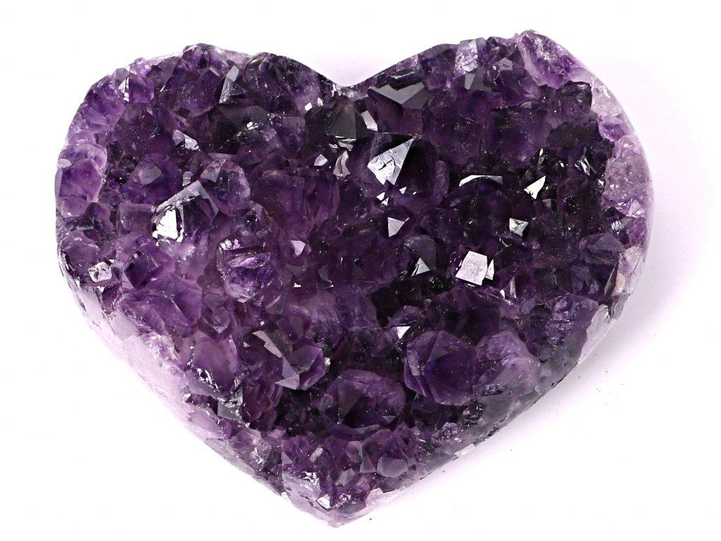 Ametyst drúza Srdce - Top kvalita - 420g #56  + sleva 5% po registraci na většinu zboží + dárek k objednávce