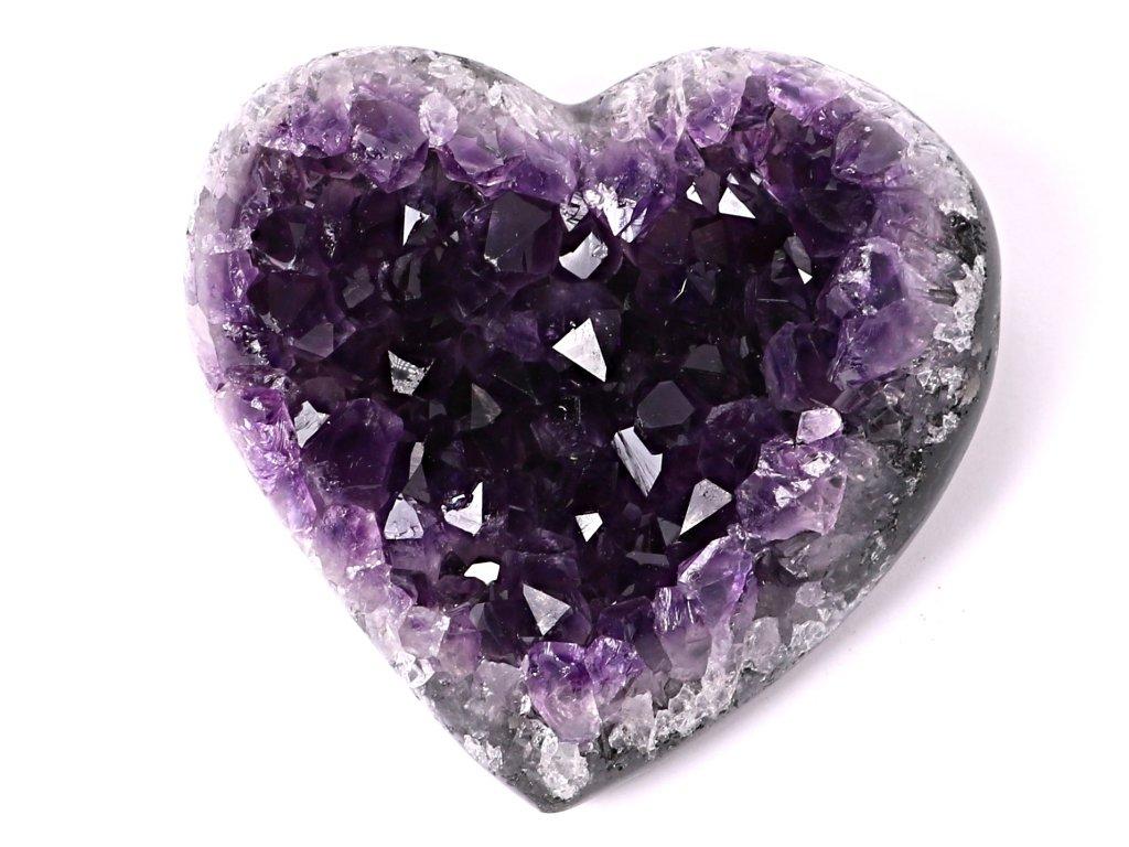 Ametyst drúza Srdce - Top kvalita - 280g #62  + sleva 5% po registraci na většinu zboží + dárek k objednávce