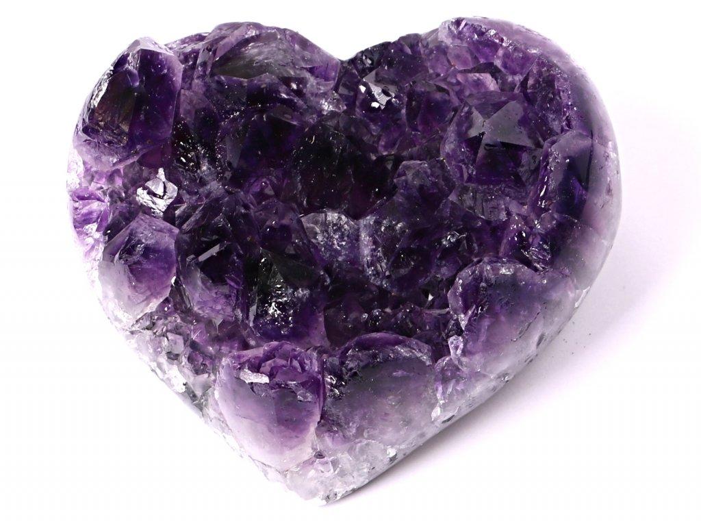 Ametyst drúza Srdce - Top kvalita - 420g #65  + sleva 5% po registraci na většinu zboží + dárek k objednávce