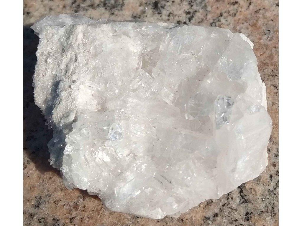 Křišťál přírodní - surový - 0.126 kg - drůza #54