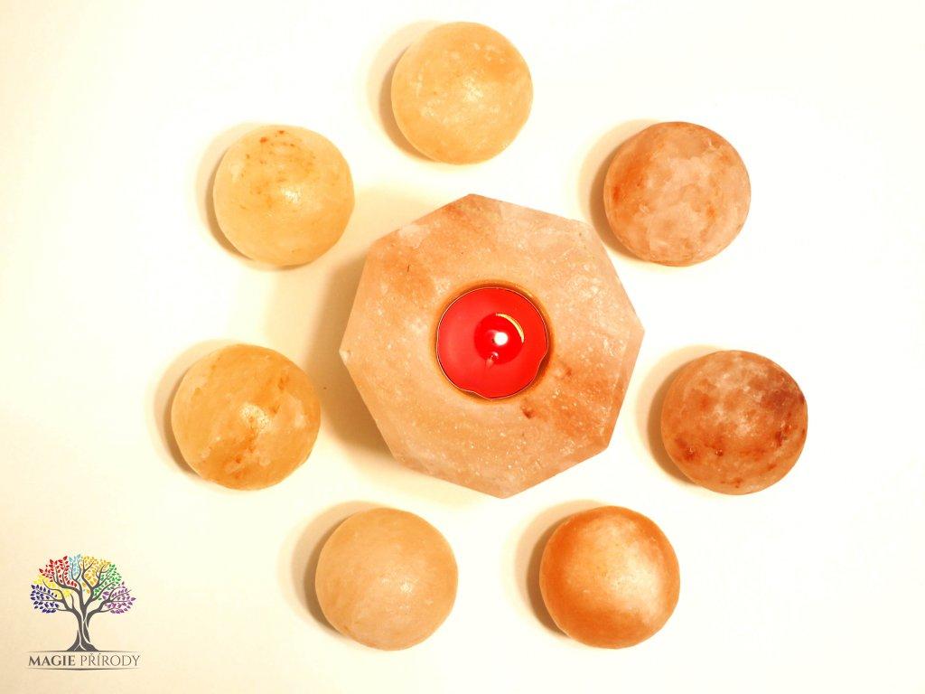 Solná masážní koule 5 cm