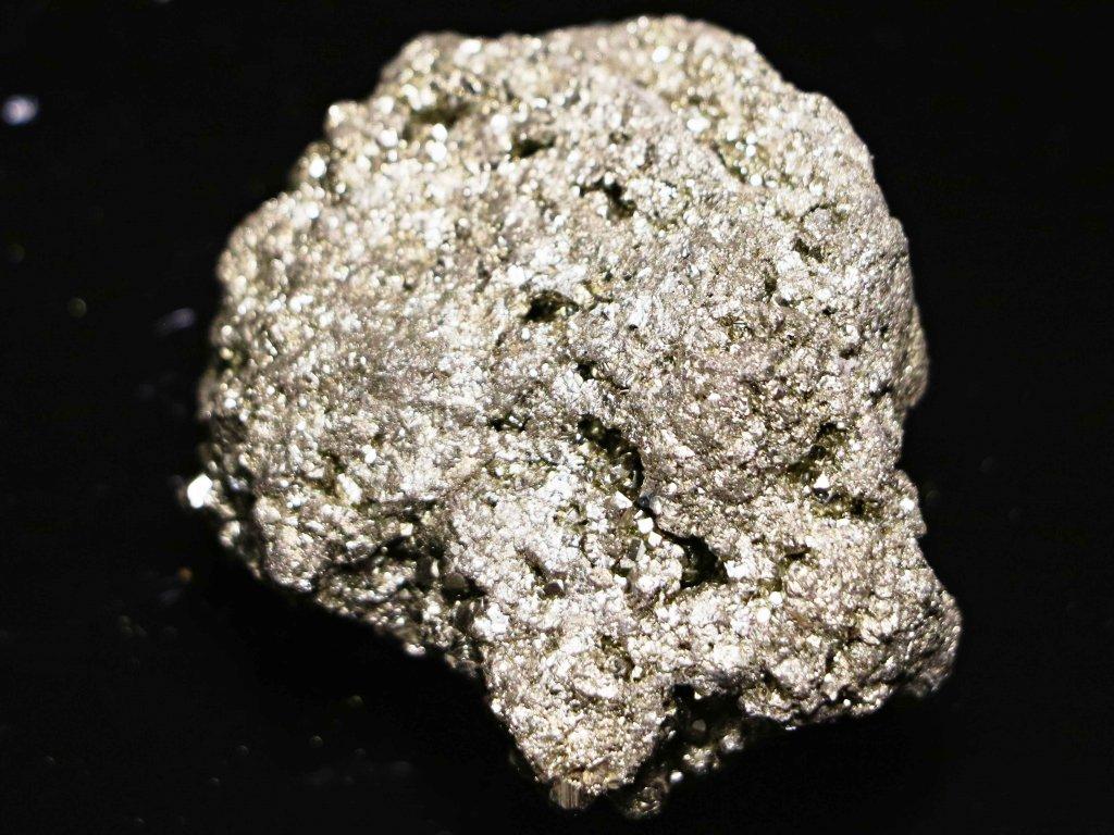 Pyrit přírodní - surový - 0.127 kg - #31