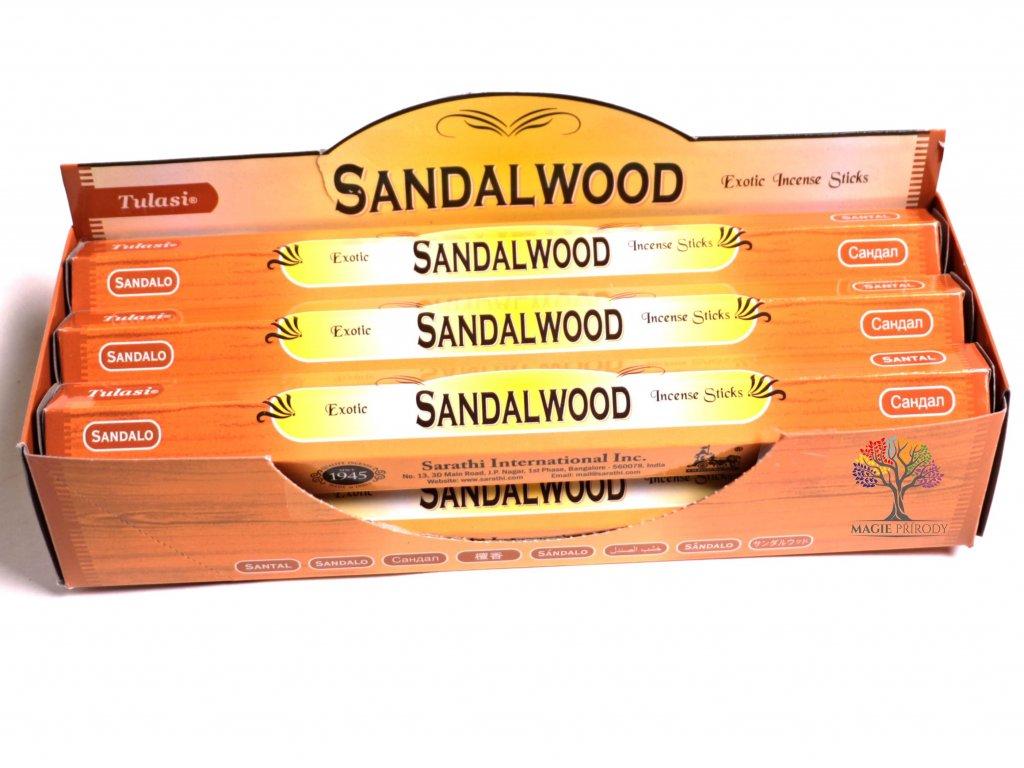 Vonné tyčinky Sandalwood - vůně Santalové dřevo - 20 ks - #03